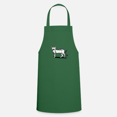 two headed cat - Apron