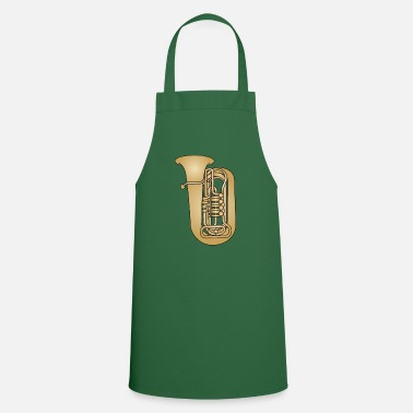 Brass Tuba brass - Cooking Apron