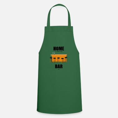 Bar Pub Bar pub counter drinking home is where my bar is - Apron