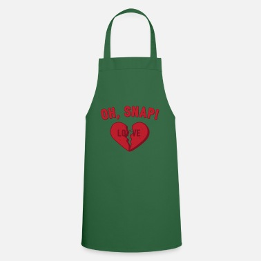 Valentines Oh Snap! Anti Valentine's Day Love Gift - Apron