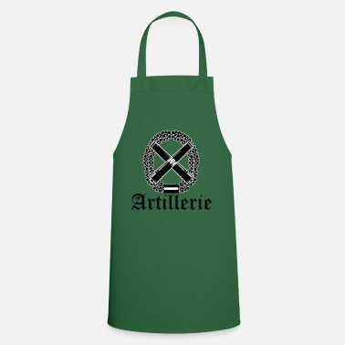 Artillery Artillery with text black - Cooking Apron