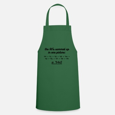 Nineties The nineties in a picture - Cooking Apron