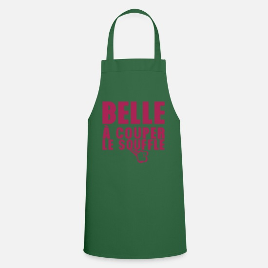 Horse Sayings Aprons - beautiful breathtaking expression - Apron green
