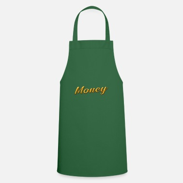 Gold gold money gold - Apron