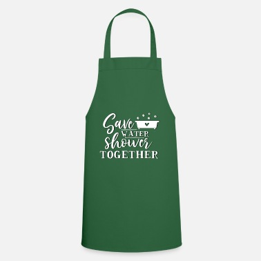 Geimeinsam Baden - Shower Together - Apron