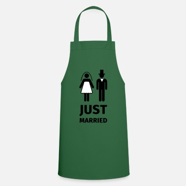 Wedding just married - Apron