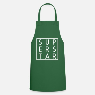 Superstar SUPERSTAR - Delantal de cocina