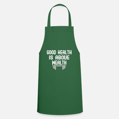Wealth Health healthcare wealth gift - Cooking Apron