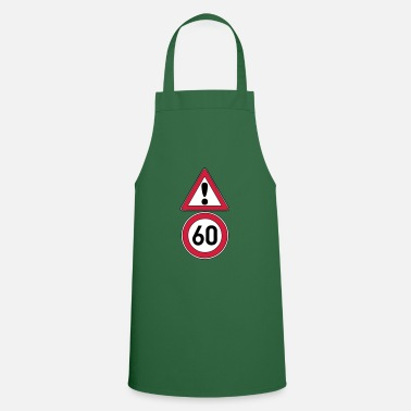 Date Of Birth 60th birthday, attention 60 ... + - Apron