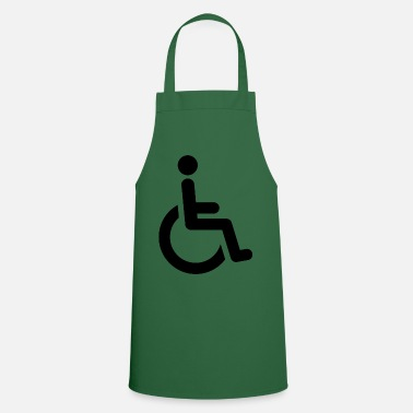Wheelchair wheelchair - Cooking Apron