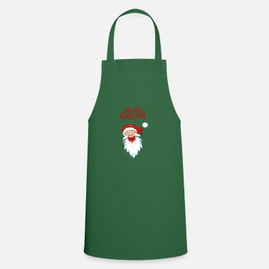 Wait Merry Christmas Laughing Santa Claus / Santa Claus - Cooking Apron