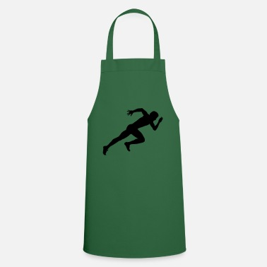 Silhouette run sports - Cooking Apron