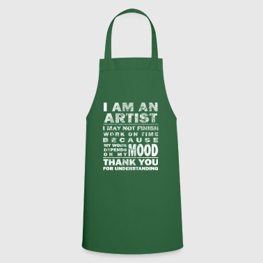 Painting Art artist paint drawing gift - Cooking Apron