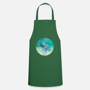 Under Water calamari under water - Apron