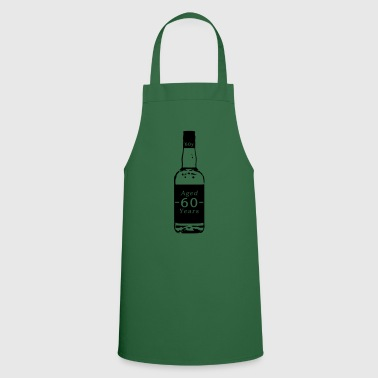 60 years - whiskey - Cooking Apron