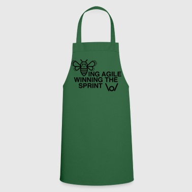 BEING AGILE WINNING THE SPRINT - Cooking Apron