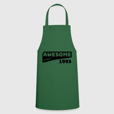 Awesome since 1993 / Birthday-Shirt - Cooking Apron