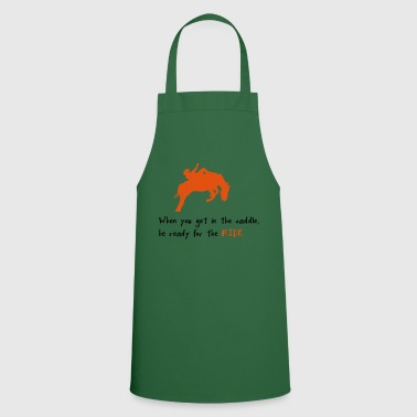 2541614 10437626 riding - Cooking Apron