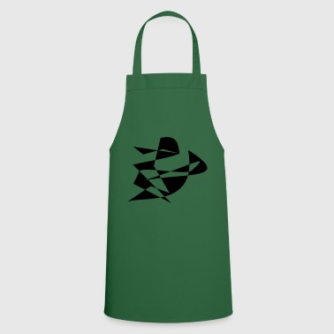 Motive rider abstract black - Cooking Apron