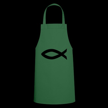 Ichthys fish Christianity - Cooking Apron