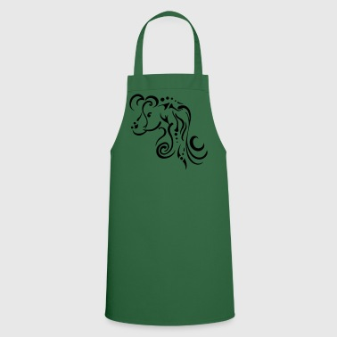 Mare, clean tribal design - Cooking Apron