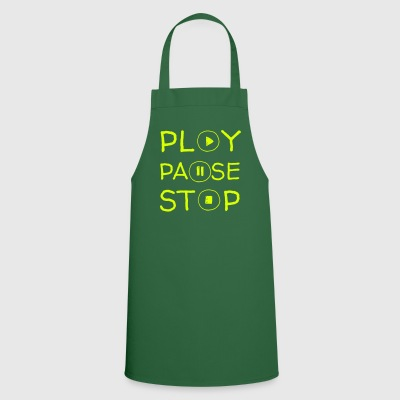 Play Pause Stop - Cooking Apron