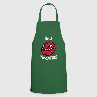 piranhas rouges - Tablier de cuisine