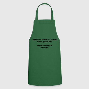 Select All From Me - Cooking Apron