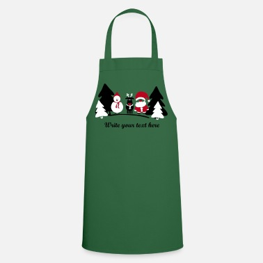 Christmas christmas crew 2 - Cooking Apron