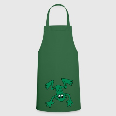 Frog, frogs, green, lake, water, Quak jump, hop, Gequake, leap, Glitschig, amphibians, kaulquappe, Quappe, larva, life, Frog  - Cooking Apron