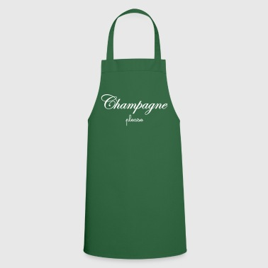 Champagne Please - Tablier de cuisine