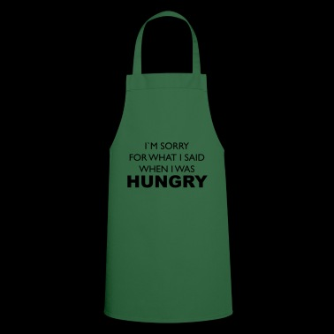 hungry - Cooking Apron