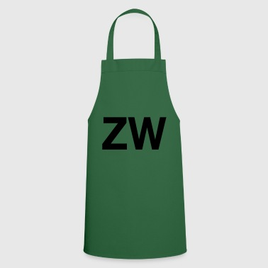 ZW Initials - Cooking Apron