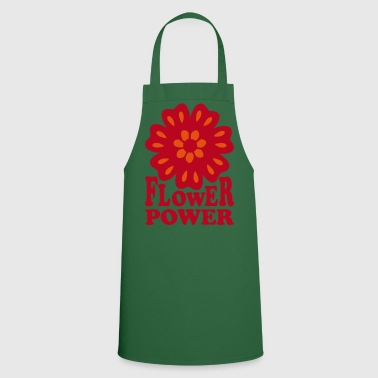 Flower Power  Goa Hippie Flower 70s  Flower  - Cooking Apron