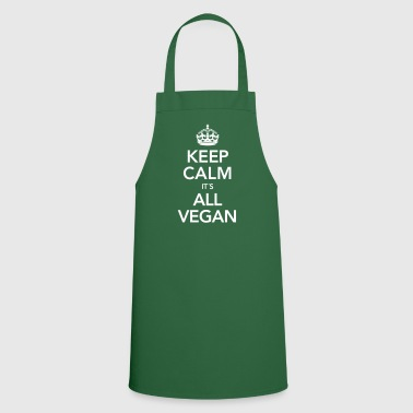 Keep Calm It´s All Vegan - Cooking Apron