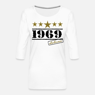 Sters 1969 - Frauen Premium 3/4-Arm Shirt