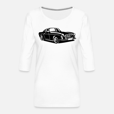 Volvo Volvo P1800 The Saint - Women's Premium 3/4-Sleeve T-Shirt