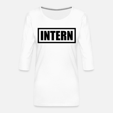 International Intern - Women's Premium 3/4-Sleeve T-Shirt