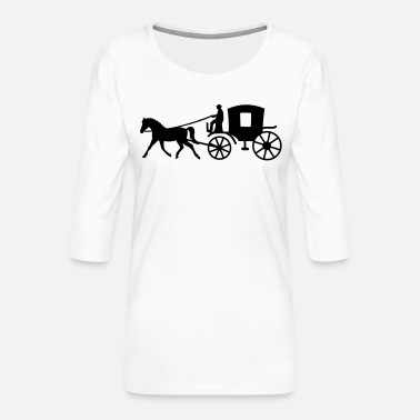 Vehicle vehicle - Women's Premium 3/4-Sleeve T-Shirt