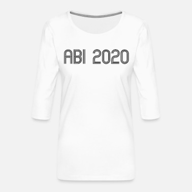 ABI 2020 - Women's Premium 3/4-Sleeve T-Shirt