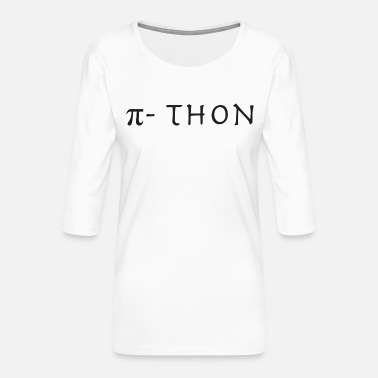 Π π-thon - Frauen Premium 3/4-Arm Shirt