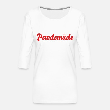 Pandemic Pandemic - Women's Premium 3/4-Sleeve T-Shirt