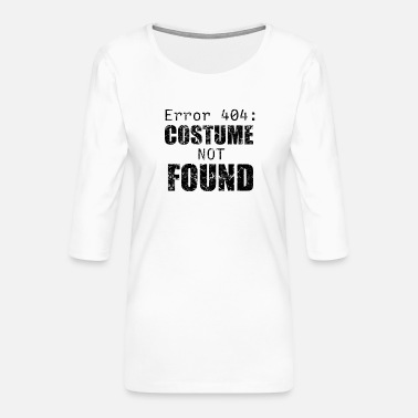 Idea 404 Halloween costume - Women's Premium 3/4-Sleeve T-Shirt