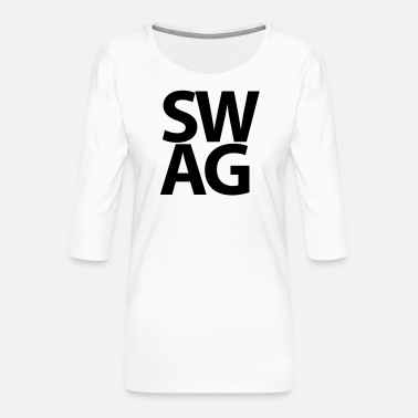 Swag SWAG - Women's Premium 3/4-Sleeve T-Shirt