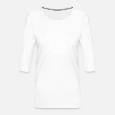 FOCUS - Frauen Premium 3/4-Arm Shirt