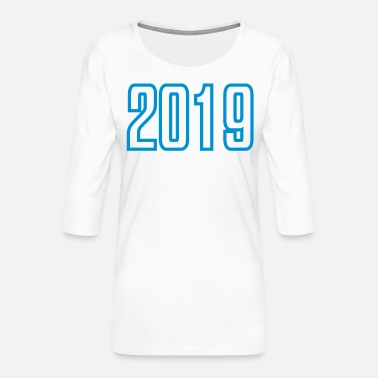 2019 2019 - Women's Premium 3/4-Sleeve T-Shirt