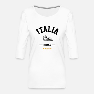 Rome for travelers - Women's Premium 3/4-Sleeve T-Shirt
