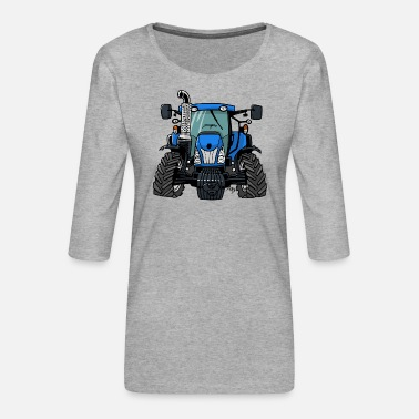 New Holland 0646 NewHolland - Women's Premium 3/4-Sleeve T-Shirt