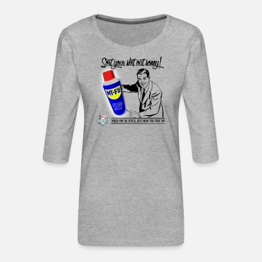 Long Sort your shit out sonny - Women's Long Sleeve - Women's Premium 3/4-Sleeve T-Shirt