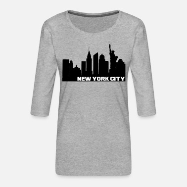 Little Italy NY City - Frauen Premium 3/4-Arm Shirt